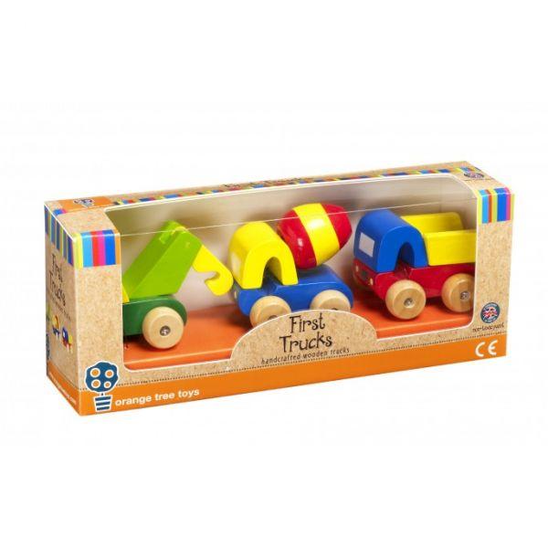 Orange Tree Toys First Vehicles Trucks