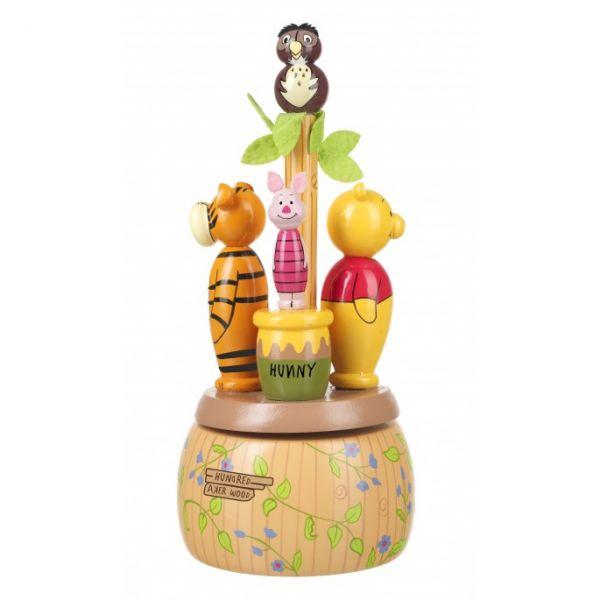 Orange Tree Winnie the Pooh Musical Carousel