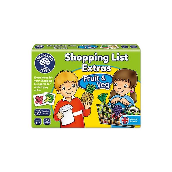 Orchard Toys Shopping List Extras- Fruit & Veg