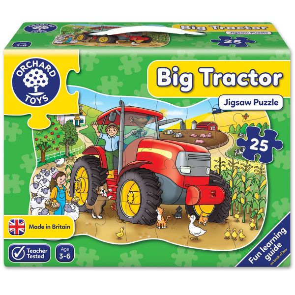 Orchard Toys Big Tractor Jigsaw