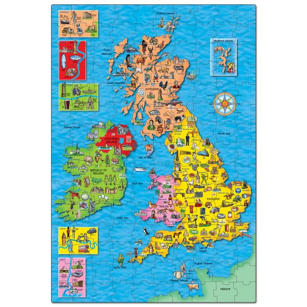 Orchard Toys Great Britain & Ireland Puzzle