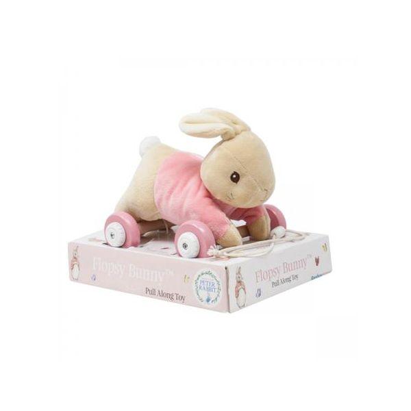 Beatrix Potter Flopsy Pull Along Toy