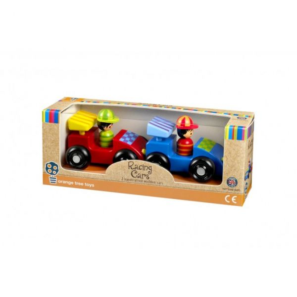 Orange Tree Racing Car Set