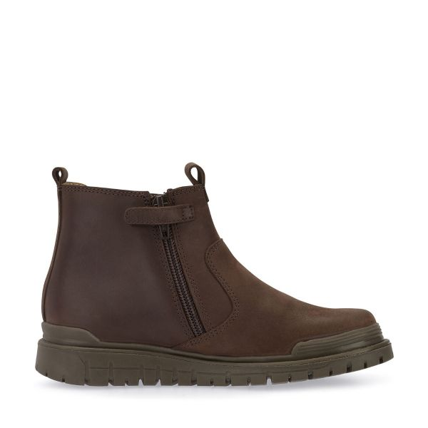Start Rite Boys Brown Boots Boost