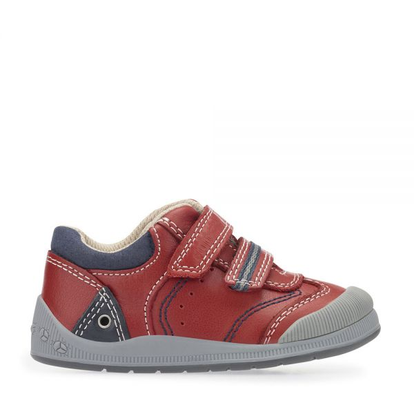 Start Rite Boys Tough Bug Red Shoes