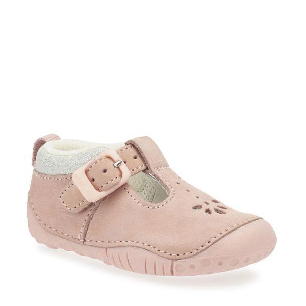 Start Rite Girls Baby Bubble Pre Walker Pink