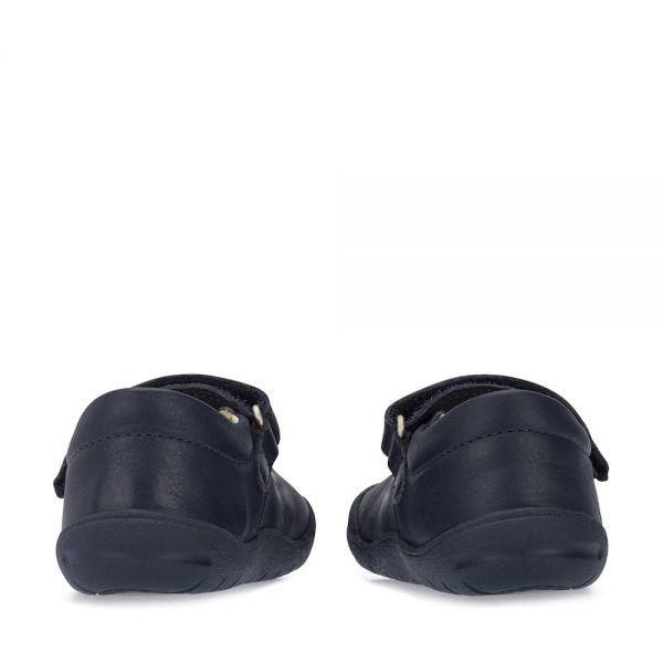 Start Rite Girls Navy Shoes Flex