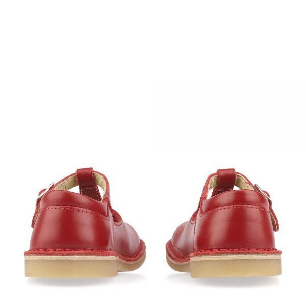 Start Rite Girls T-Bar Shoes Lottie Red