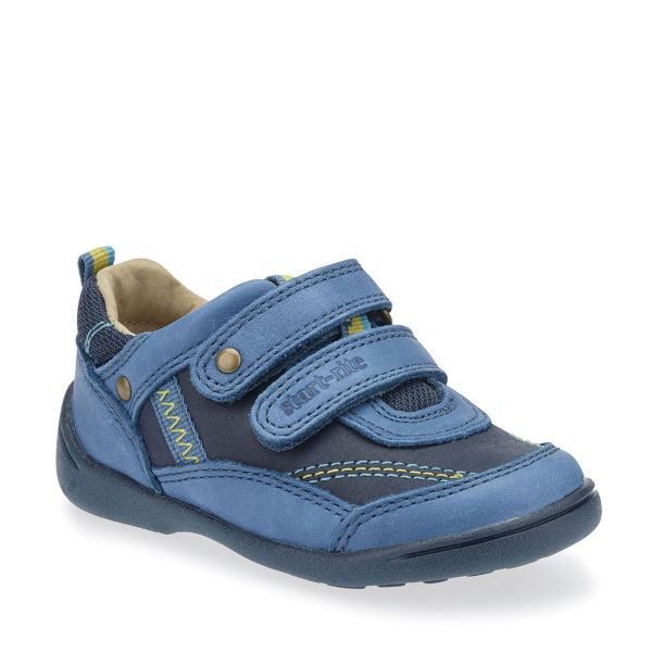 Start Rite Boys Supersoft Leo Teal/Navy