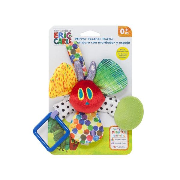 Very Hungry Caterpillar Mirror Teether Rattle