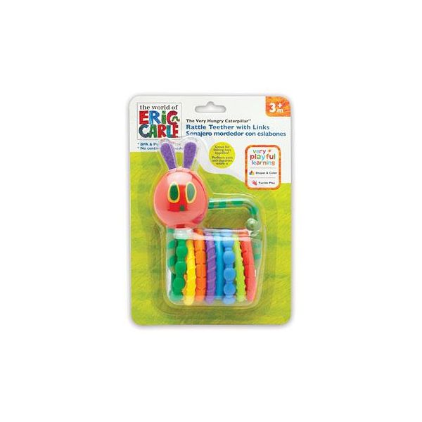 Very Hungry Caterpillar Rattle Teether With Links