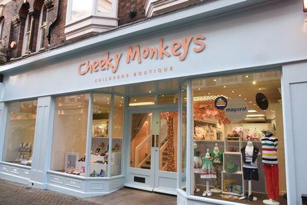 Cheeky Monkeys Lincoln childrens shop